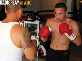 'Gallo' Estrada, en sus últimos días de preparación en Hermosillo.
