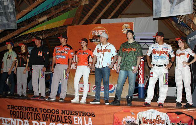 Presenta Naranjeros de Hermosillo su nuevo uniforme