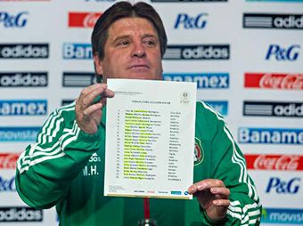 """""""Piojo"""" Herrera, buscará calificar al Tri por medio del repechaje."""
