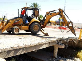Inicia ampliación de puente vehicular en bulevares Progreso y Zamora