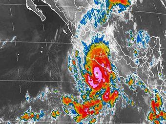 """""""Raymond"""" volverá a ser huracán en las próximas horas"""