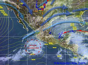 Alertan sobre posible creación de nuevo ciclón en el Pacífico