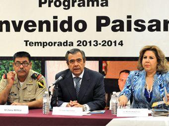 Anuncian el operativo en Sonora Bienvenido Paisano 2013-2014