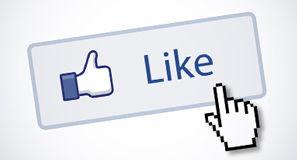 """Facebook rediseña su botón """"Me Gusta"""" y """"Compartir"""""""