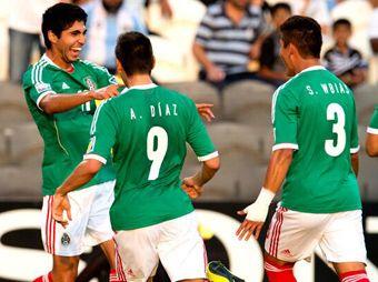 Golea el Tri Sub 17 a Argentina 3-0 y va a la final del mundial