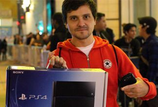 Sony lanzó su PS4 en Estados Unidos