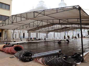 Instalarán pista de hielo en la Plaza Zaragoza