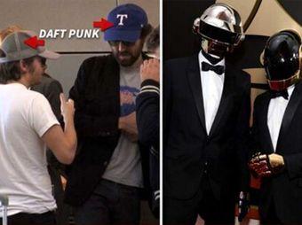 Sin sus vestimentas de robot, ellos son Daft Punk