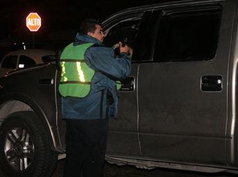 Reportan 63 detenidos por conducir bajo influjos del alcohol
