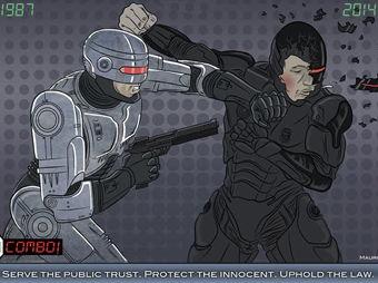 RoboCop versión fibra de vidrio