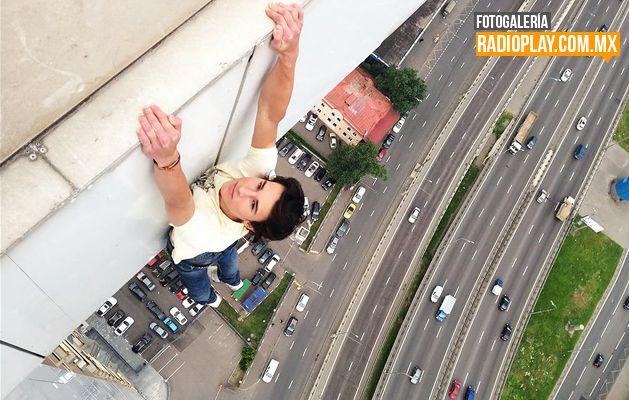 Kirill Oreshkin se toma las 'selfies' más extremas del mundo