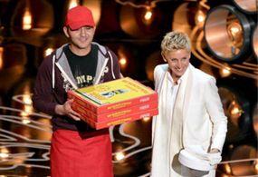 Repartidor de pizza en los Oscar se llevó 1000 dólares de propina