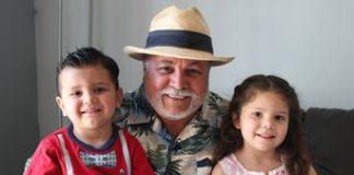 Colibrí Maldonado y nietos.