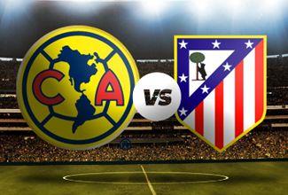 Seguir en vivo América vs Atlético de Madrid amistoso 30 de Junio de 2014