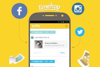 ¿Qué hacías en redes sociales hace un año?; checa TimeHop