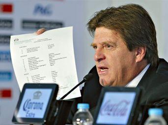 Miguel Herrera despejó las dudas sobre la lista final de los 23 jugadores que conformaran el equipo tricolor