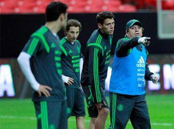 La Selección Mexicana ya entrena con equipo completo