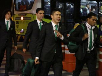 El Tri ya está en Brasil