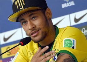 """""""Si el golpe hubiera sido más centrado estaría en silla de ruedas"""": Neymar"""