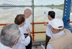 Acuerdan autoridades zona de restricción en río Sonora