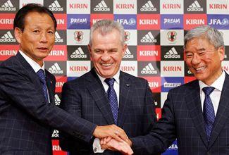 Javier Aguirre ya es técnico de la Selección de Japón