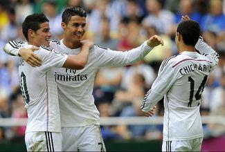 El mexicano, que entró de cambio por Gareth Bale a los 77 minutos, anotó el séptimo y octavo tanto, siendo el primero de ellos un verdadero golazo