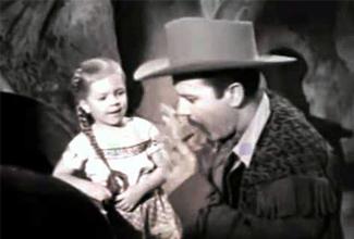 """La actriz tuvo aparición cuando niña, al lado de Pedro Infante en la famosa película """"Los tres Huastecos""""."""
