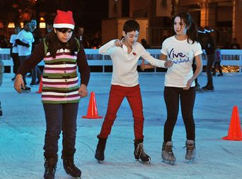 Instalarán pista de hielo en Plaza Zaragoza, en Hermosillo