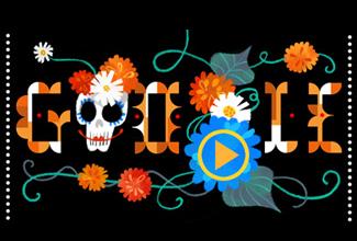 Google conmemora el Día de Muertos