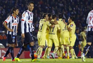 Los goles del América contra Monterrey
