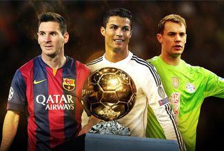 ¿Quienes son los finalistas al Balón de Oro 2015?