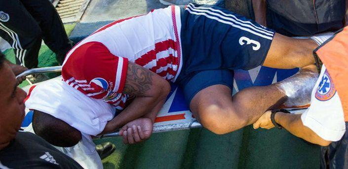 La lesión de Carlos Salcido