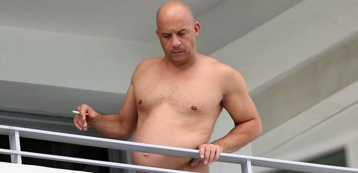 Vin Diesel tendrá que bajar de peso Rápido y Furioso