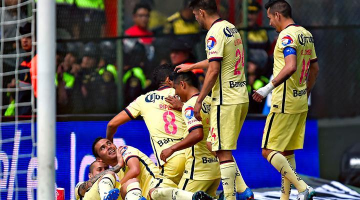 Resumen: Goles del América vs Toluca
