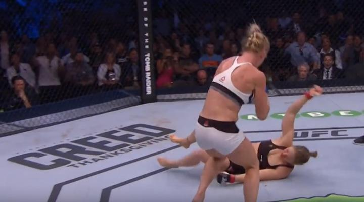 Vídeo: Nocaut de Holly Holm a Ronda Rousey