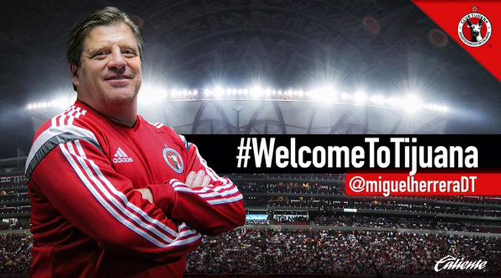 Oficial: Piojo Herrera es el entrenador de Xolos