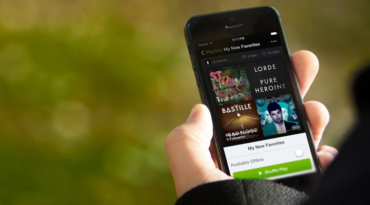 Las canciones más escuchadas de Spotify en el 2015