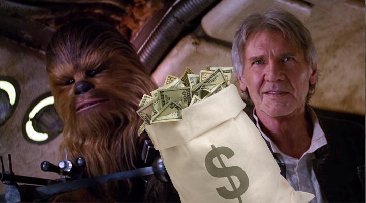 ¿Cuánto dinero ha recaudado Star Wars: The Force Awakens?