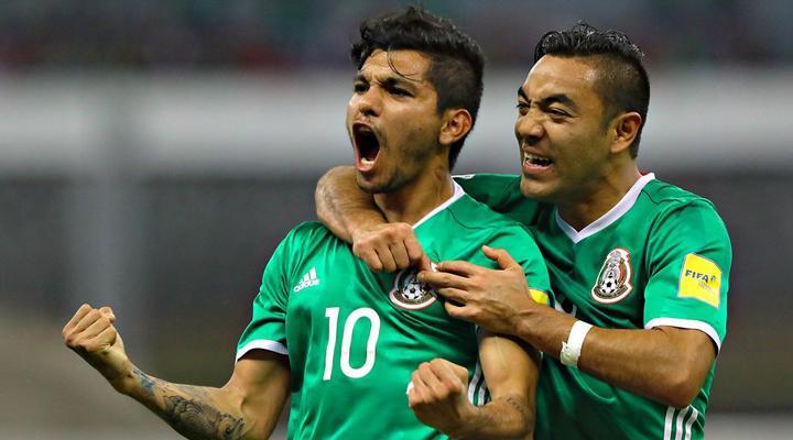 Los goles de México vs Canadá Partido 2
