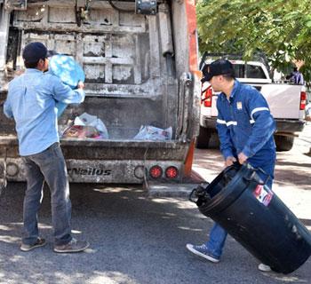 dias de recoleccion de basura en hermosillo
