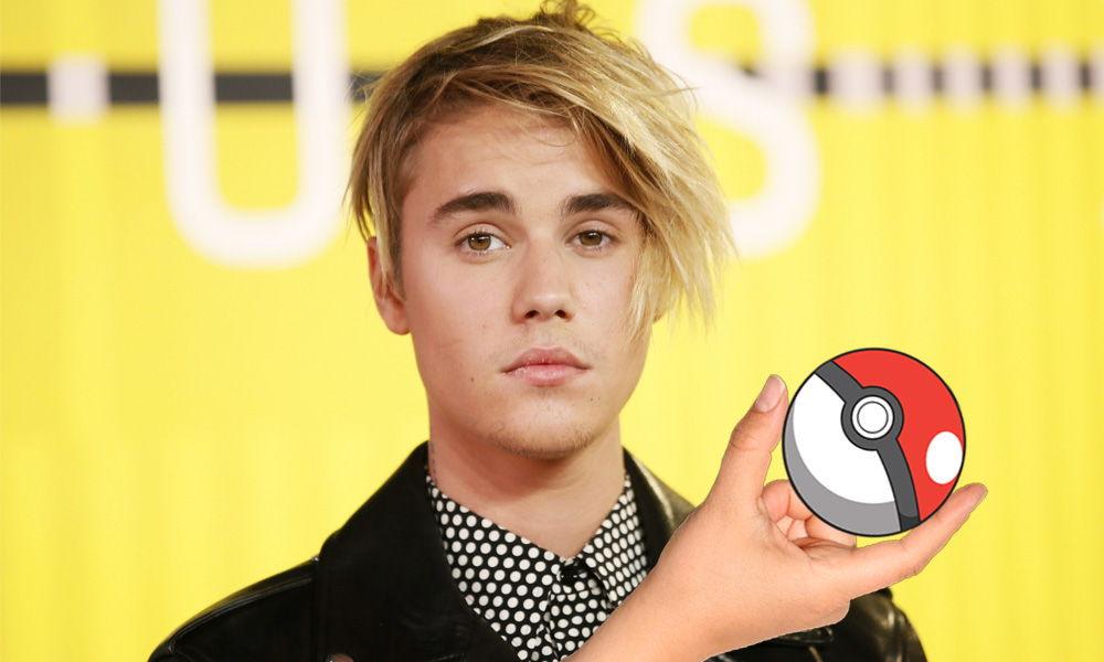 Con ustedes: Justin Bieber jugando Pokémon GO