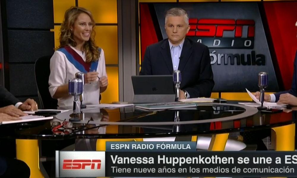 Vanessa Huppenkothen inicia en ESPN