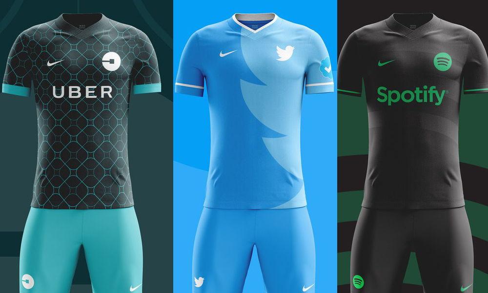 Estos serían los uniformes de los equipos de fútbol de Redes Sociales
