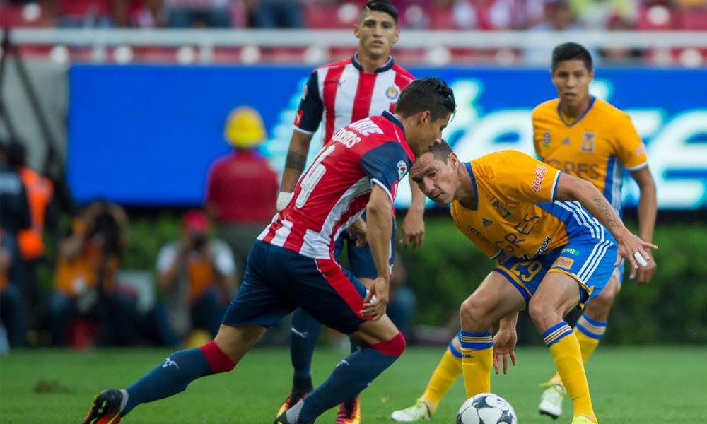ver en vivo Chivas vs Tigres juego de ida