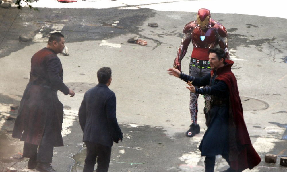 fotos as lucir iron man en avengers infinity war