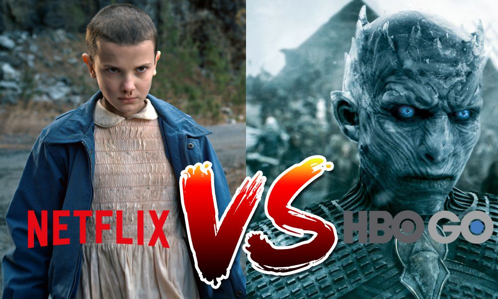 Netflix vs HBO Go