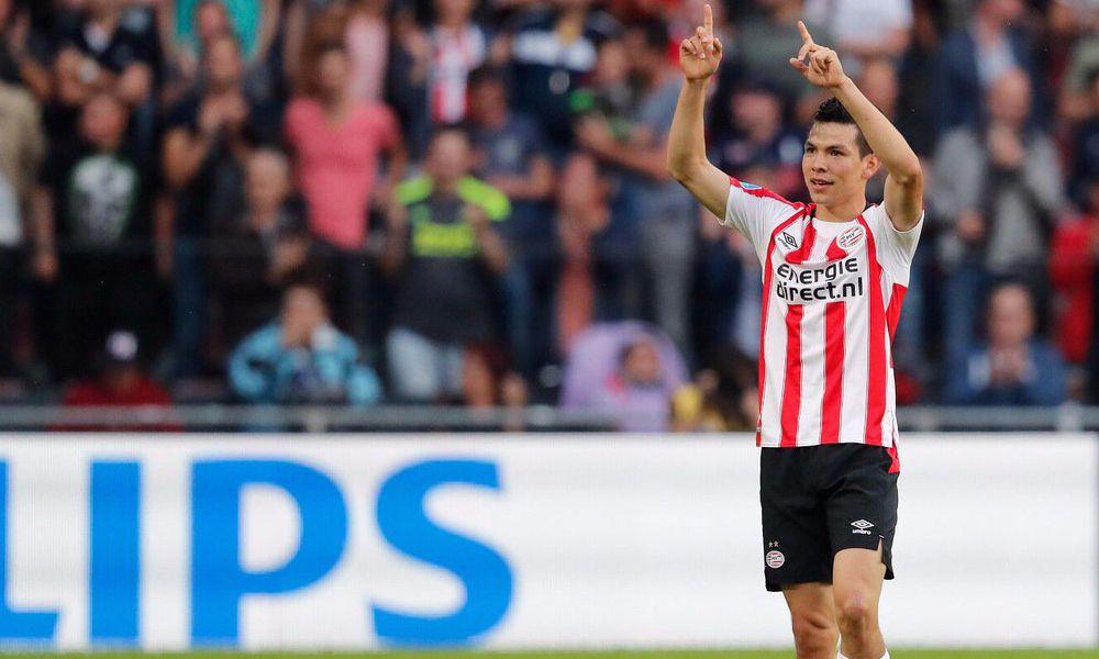 gol del Chucky Lozano con el PSV