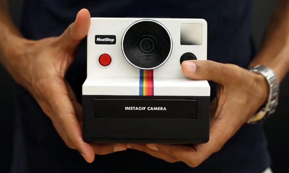 La cámara capaz de imprimir GIFs instantáneos — Instagif
