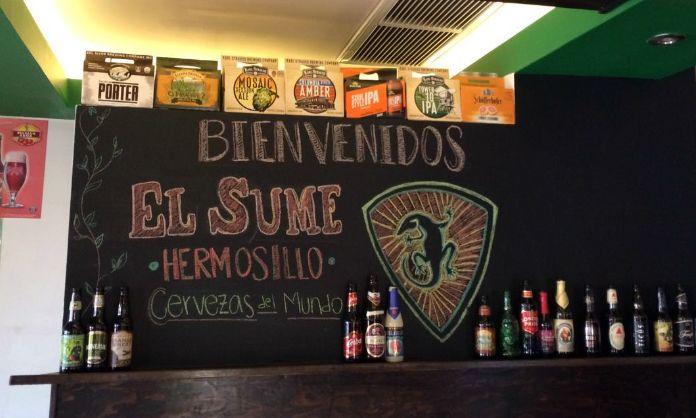 El Sume cerveza artesanal en Hermosillo