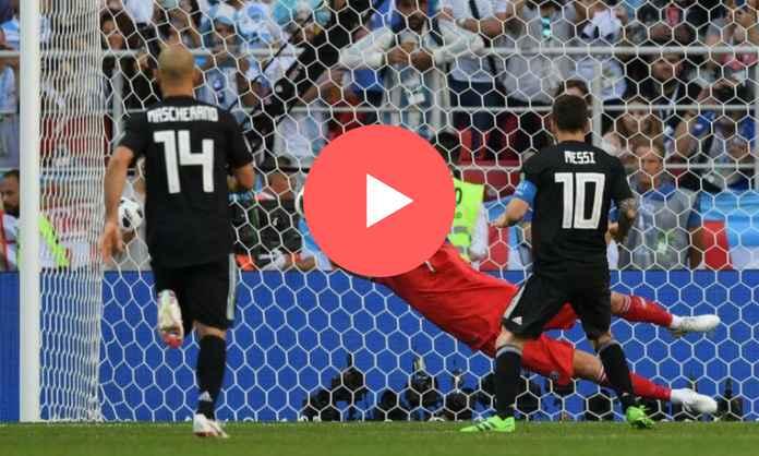 Ver partido completo Argentina vs Islandia